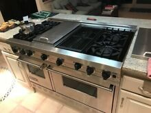 Viking Range 48 Inch Pro Style Commercial Depth Gas Range