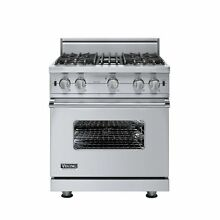 Viking Vgcc 5304B 30 Inch Wide 3 7 Cu Ft  Free Standing Natural Gas Range with