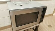 Sharp 1 5 cu  ft  Countertop Convection Microwave Stainless Steel R 930CS