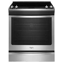 Whirlpool 6 2 Cu  Ft   Slide In Electric Range WEE730H0DS With Convection NIB