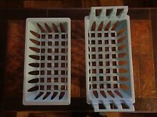 Genuine Frigidaire  Other Brands Freezer Upper and Lower Blue Baskets 2 Pack NEW