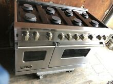 48 Inch Viking Professional Double Oven Range vgcc5488bss