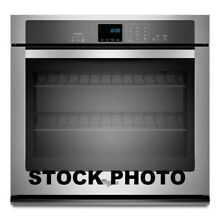 WHIRLPOOL 30  SINGLE WALL OVEN EXTRA LARGE WINDOW STAINLESS STEEL