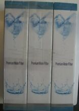 Pack 3 Premium Water Filter Replacement For Whirlpool 4396841 4396710 New In Box