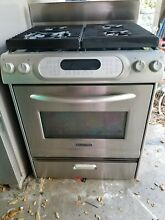 Kitchen Aid Stainless Steel Gas Range Stove