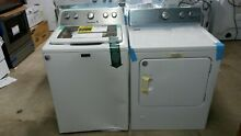 Maytag mvwx655dw  4 3 cu ft High Efficiency Top Load Washer  gas Dryer mgdc215ew
