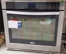 NEW OUT OF BOX 30  WHIRLPOOL SINGLE ELECTRIC STAINLESS WALL OVEN