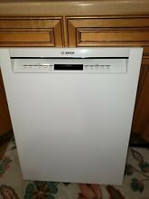 Bosch dishwasher front panel and control front  white  SHE68T52UC 02 free ship