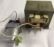 LG Microwave oven Transformer PN  6170W1D052R with ch85 21100 Capacitor