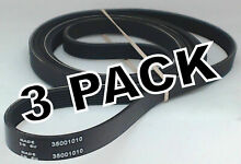 3 Pk  Dryer Belt for Whirlpool  Sears  Kenmore  Maytag  Magic Chef  35001010
