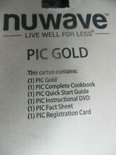 New in Box NuWave PIC Gold Precision Induction Cook Top Model No 30211