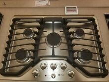 GE PGP953SET Stainless Steel 30 in  Gas Gas Cooktop