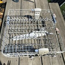 Whirlpool or Magic Chef Dishwasher Upper Dishrack 99001454 99001019 With Extras