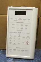 GE MICROWAVE CONTROL PANEL PART   WB07X10195 WB27X10180