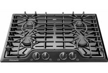 FRIGIDAIRE 30 in  Gas Cooktop w  4 Sealed Burners  Quick Boil and Simmer  Black
