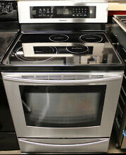 Samsung FTQ307NWGX 30  Freestanding Induction Range