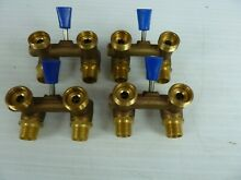 Brass Washing Machine Valve 1 2    four valves in this sale