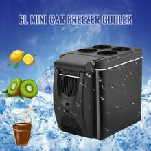 6L Portable Car Soda Beer Bar Mini Refrigerator Refrigeration Green Mute Bicycle