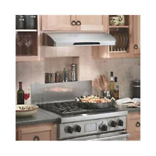Broan Elite Series E66230SS 30  Under Cabinet Range Hood with 800 CFM Blower