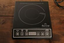 SECURA 9100MC 1800W Portable Countertop Induction Cooktop   Black
