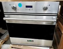 VIKING 30  SINGLE ELECTRIC WALL OVEN STAINLESS STEEL PROFESSIONAL SERIES