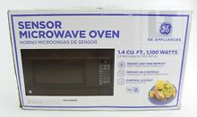 GE JES1460DSBB 1100W Sensor Microwave Oven Black New Open Box Local Pick Up Only
