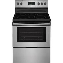 Frigidaire 30  Freestanding Electric Range Stainless Steel FFEF3052TS