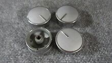 WPW10430806 Whirlpool Kenmore Range Oven Control Knobs  Set of 4