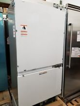 NEW OUT OF BOX FISHER PAYKEL STAINLESS BUILT IN REFRIGERATOR FREEZER 80  TALL