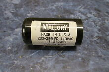 GE STACKABLE CAPACITOR PART   WH12X1001 WH12X1039