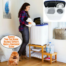 Washer 33L Combo 16L Dryer Compact Mini Portable Electric Washing Machine Washer