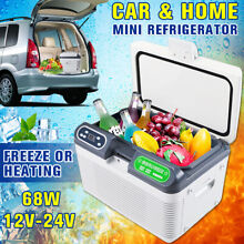 12L 12V Portable Mini Car Fridge Freezer Travel Cooler Warmer Refrigerator