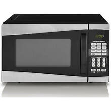 Microwave Oven Stainless Steel Countertop 2 Kitchen New Compact 900W Power level