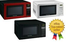 Proctor Silex 0 7Cuft  Digital Microwave Oven Assorted Colours FREE SHIPPING