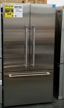 FISHER PAYKEL 36  FRENCH DOOR REFRIGERATOR STAINLESS STEEL PRO HANDLES