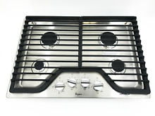 Whirlpool WCG51US0DS 30  Gas Cooktop w  Multiple SpeedHeat Burners  5646
