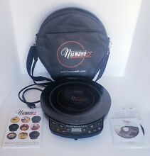 NuWave 2 Precision Induction Cooktop Electric Portable Tested 30141AQ With Case