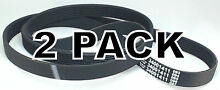 2 Pk  Washing Machine Drive Belt for Maytag  AP4044784  PS2037334  34001411
