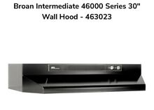 Broan 463023   Black 30  Range Hood