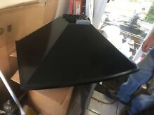 Thermador 36 Inch Hood Fan Chimney Style Black