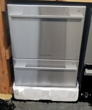 NEW OUT OF BOX FISHER   PAYKEL STAINLESS STRAIGHT HANDLE DISHDRAWER DISHWASHER
