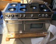 Dynasty 48  Gas Range Stainless Steel NEW 2 Ovens Double