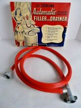 Sterling Automatic Wringer Washing Machine Filler   Drainer Hose No  700 Vintage