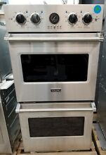 VIKING 27  PROFESSIONAL SERIES 5 STAINLESS STEEL DOUBLE WALL OVEN