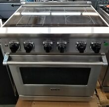 VIKING 5 SERIES 30  ELECTRIC FREESTANDING RANGE STAINLESS STEEL REFURBISHED