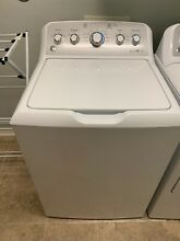 Top Load GE Electric Washing Machine 4 5 Cu  Ft  Capacity White Pre Owned