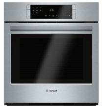 Bosch 27  800 Series SS Single Wall Oven HBN8451UC   Brand New in Box