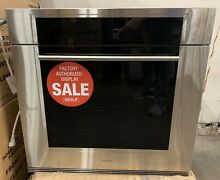 Wolf 30  M Series Contemporary Built In Black Single Oven SO30 TMSTH