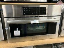 Bosch 800 Series 30  Stainless Steel Convection Speed Built In Microwave Oven