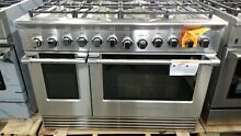 NEW OUT OF BOX FISHER PAYKEL 48  GAS RANGE 8 BURNERS 2 OVENS STAINLESS STEEL